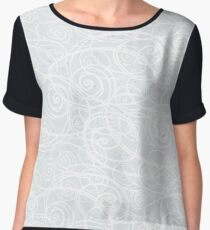 Drizzle & Fog (PNG file) Chiffon Top
