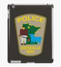 POLICE Bemidji MN iPad Case/Skin