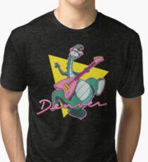 Camiseta de tejido mixto El último dinosaurio