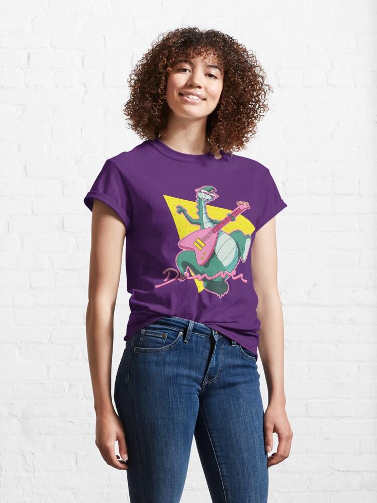 Alternate view of The Last Dinosaur Classic T-Shirt