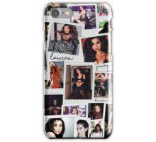 Lauren Jauregui Vintage Collage iPhone Case/Skin