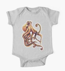 Sepia Octopus Kids Clothes