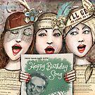 Happy birthday card  by Jenny Wood