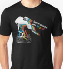 Boomboxes are logical Unisex T-Shirt