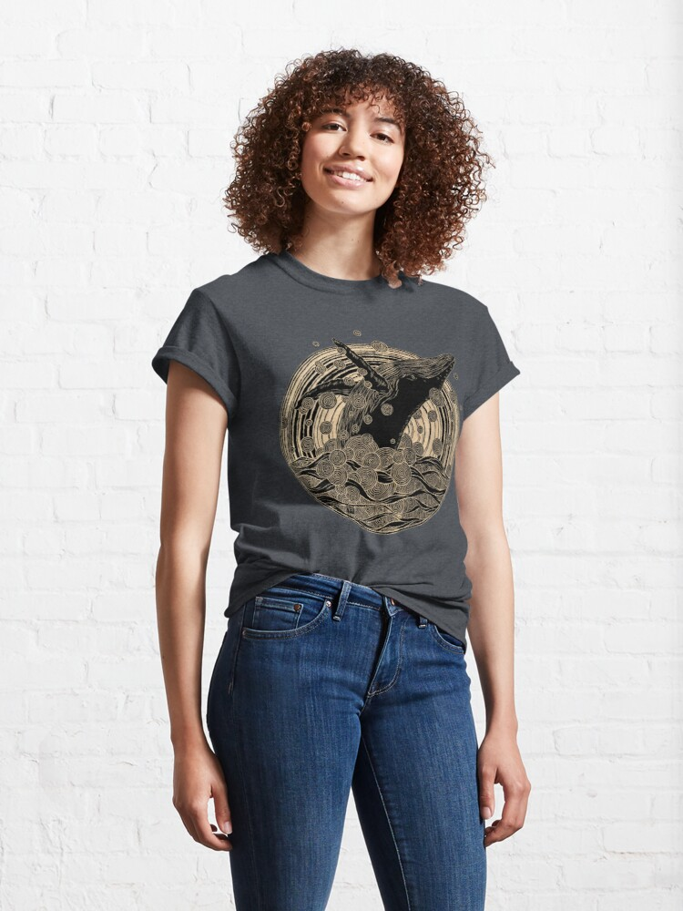 Alternative Ansicht von Wal brechen Classic T-Shirt