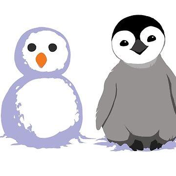 Snow Penguin de kaenith