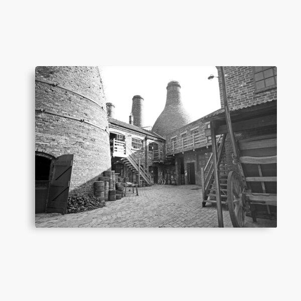 Gladstone Pottery Museum Stoke-on-Trent  Metal Print