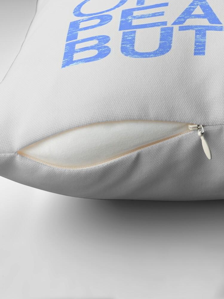 Alternate view of Peanut Butter Lover 2 Throw Pillow