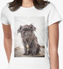 Erik the (very) Brave Griffon Women's Fitted T-Shirt