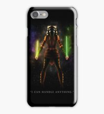 "Ahsoka Tano - ""I Can Handle Anything"" iPhone Case/Skin"