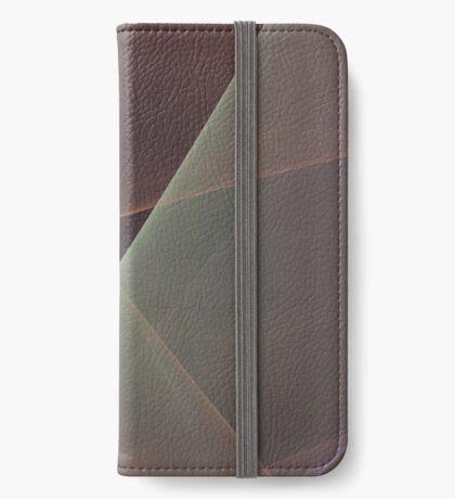 #Fractal Art Lines iPhone Wallet