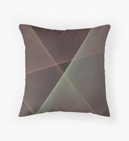 #Fractal Art Lines Throw Pillow