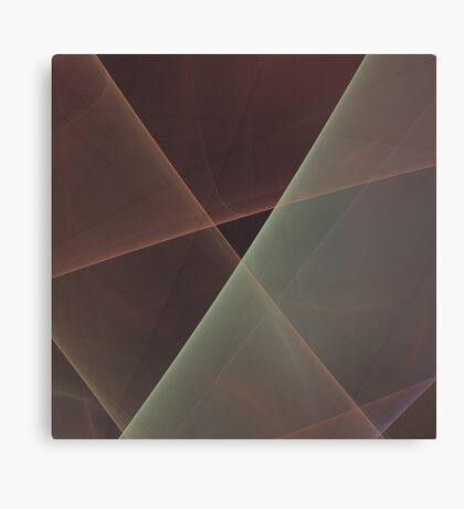 #Fractal Art Lines Canvas Print