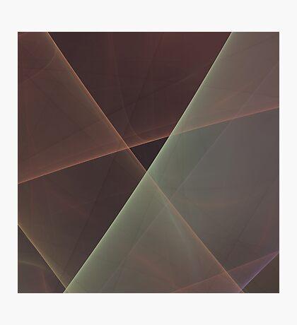 #Fractal Art Lines Photographic Print