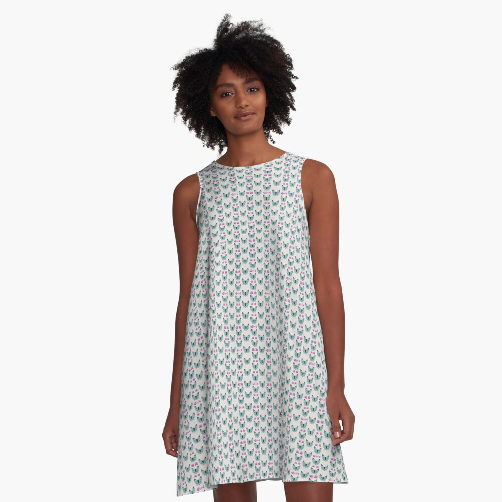 In the Heartland - CATS II A-Line Dress