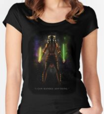 """Ahsoka Tano - """"I Can Handle Anything"""" Women's Fitted Scoop T-Shirt"""