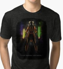 "Ahsoka Tano - ""I Can Handle Anything"" Tri-blend T-Shirt"