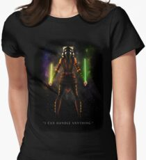 "Ahsoka Tano - ""I Can Handle Anything"" Women's Fitted T-Shirt"