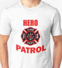 Fire fighter Hero Patrol T-Shirt