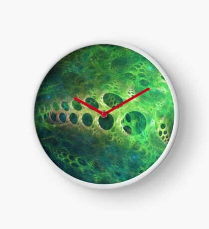 BubbleX #fractal art Clock