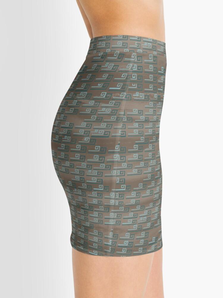 Alternate view of Winter Friends - Wind Mini Skirt
