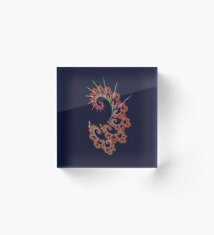 Dangerous #fractal art Acrylic Block