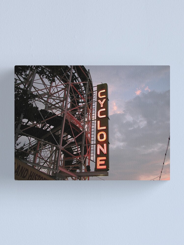 Alternate view of The Cyclone Canvas Print
