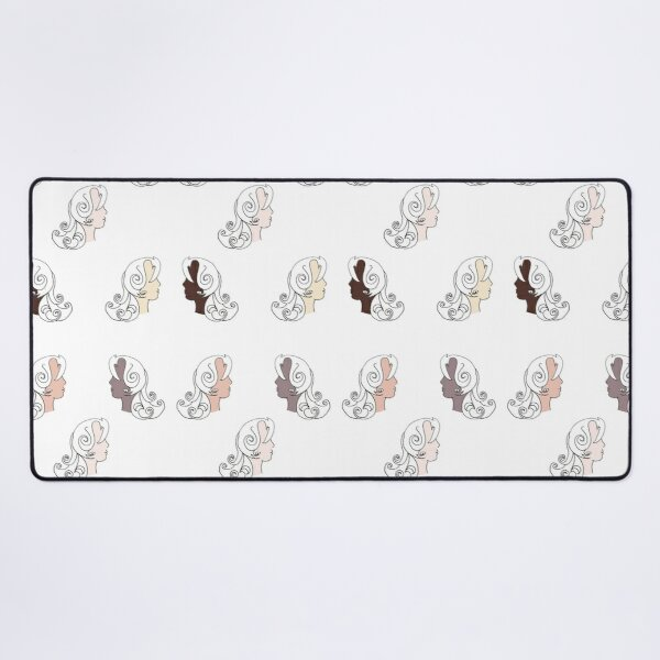 Natural never goes out of style Desk Mat