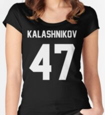 KALASHNIKOV 47 Women's Fitted Scoop T-Shirt