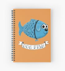 Dog Fish Spiral Notebook