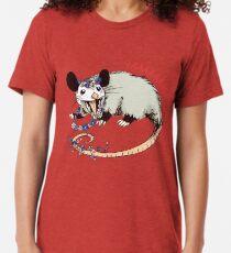 Daisy Chain Opossum Possum Yaaaas! Tri-blend T-Shirt
