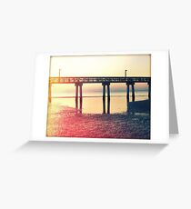 Tide Reflected Greeting Card