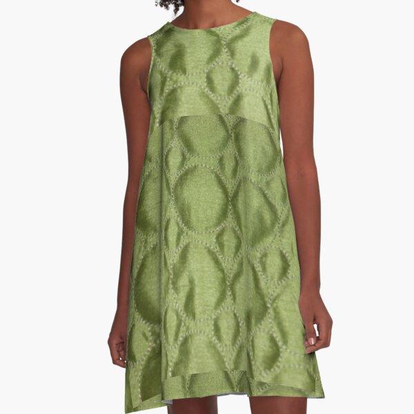 Green Envy  A-Line Dress