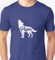 Papa Wolf / Papa bear T Shirt Unisex T-Shirt