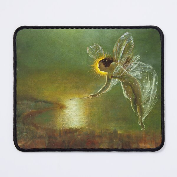 SPIRIT OF THE NIGHT by John Atkinson Grimshaw Mouse Pad