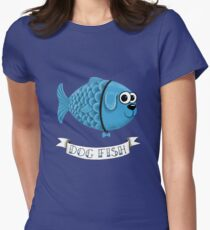 Dog Fish Womens Fitted T-Shirt