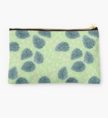 Tilia pattern / Lindenmuster Studio Pouch