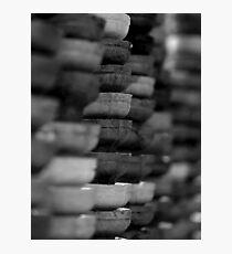 LAYER OF ICE CREAM CONES Photographic Print