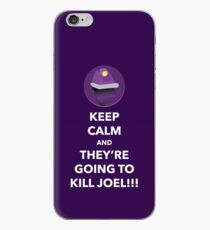 THEY'RE GOING TO KILL JOEL!!! (Purple Case) iPhone Case