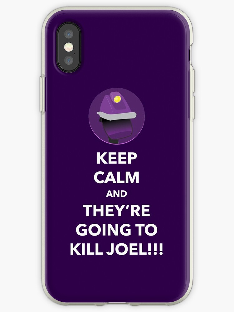 THEY'RE GOING TO KILL JOEL!!! (Purple Case) by computerclan