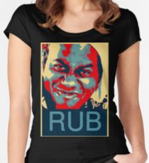Ainsley Harriott - RUB Women's Fitted Scoop T-Shirt