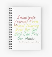 Redemption Songs Spiral Notebook