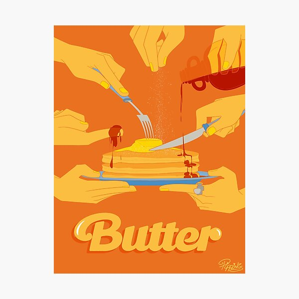 Smooth Like Butter Photographic Print