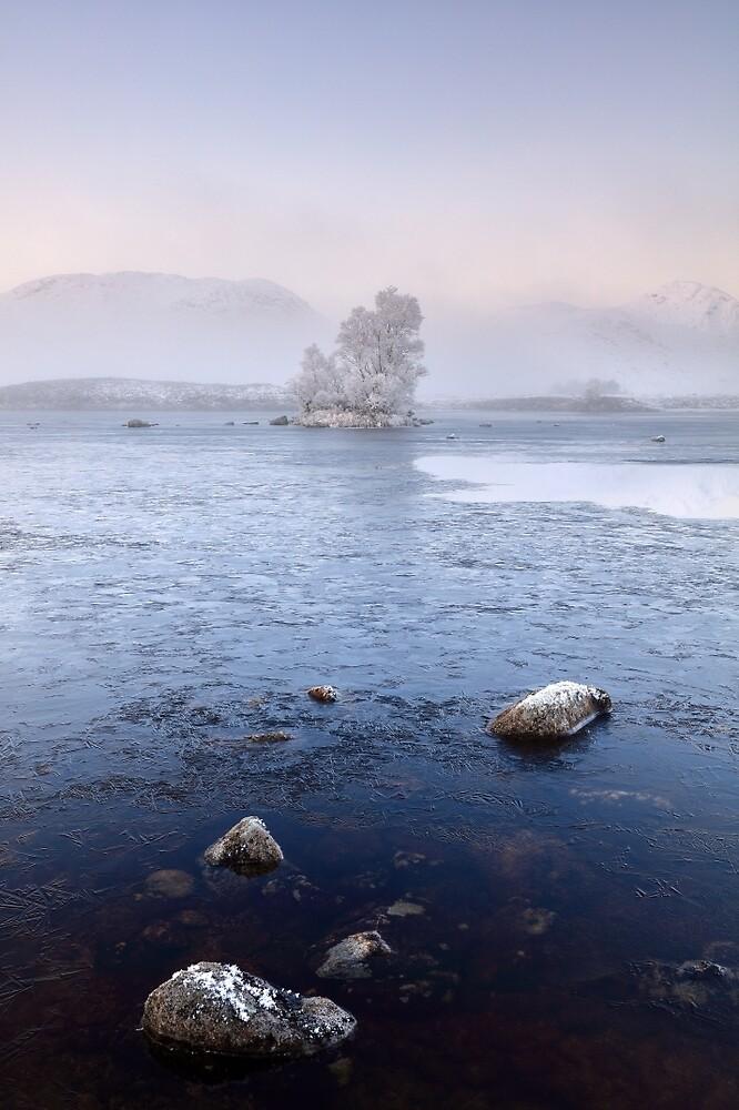 Glencoe Misty Winter Sunrise by Grant Glendinning