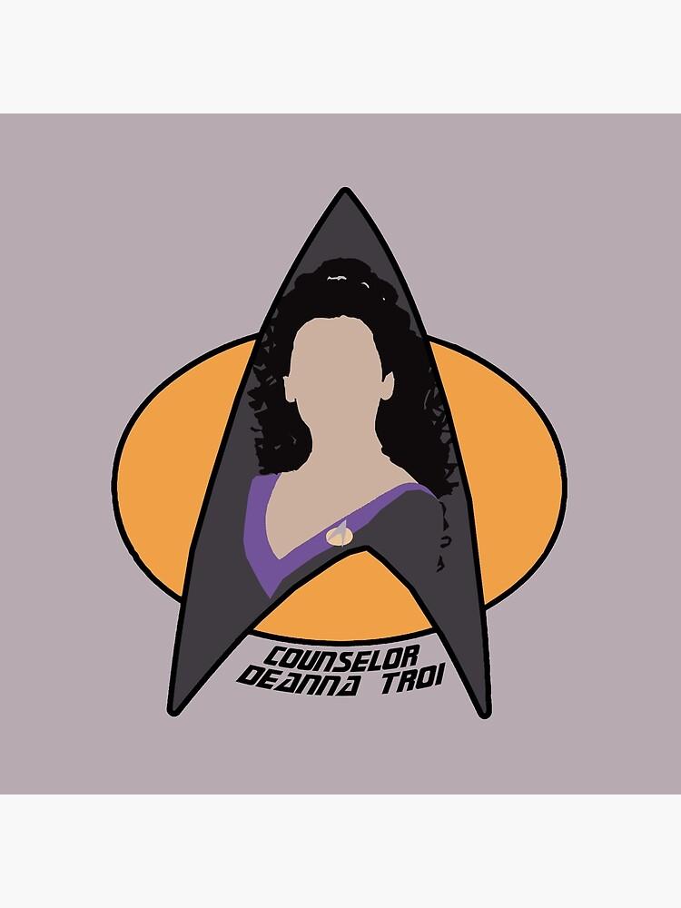 Counselor Troi - Purple by Sutilmente