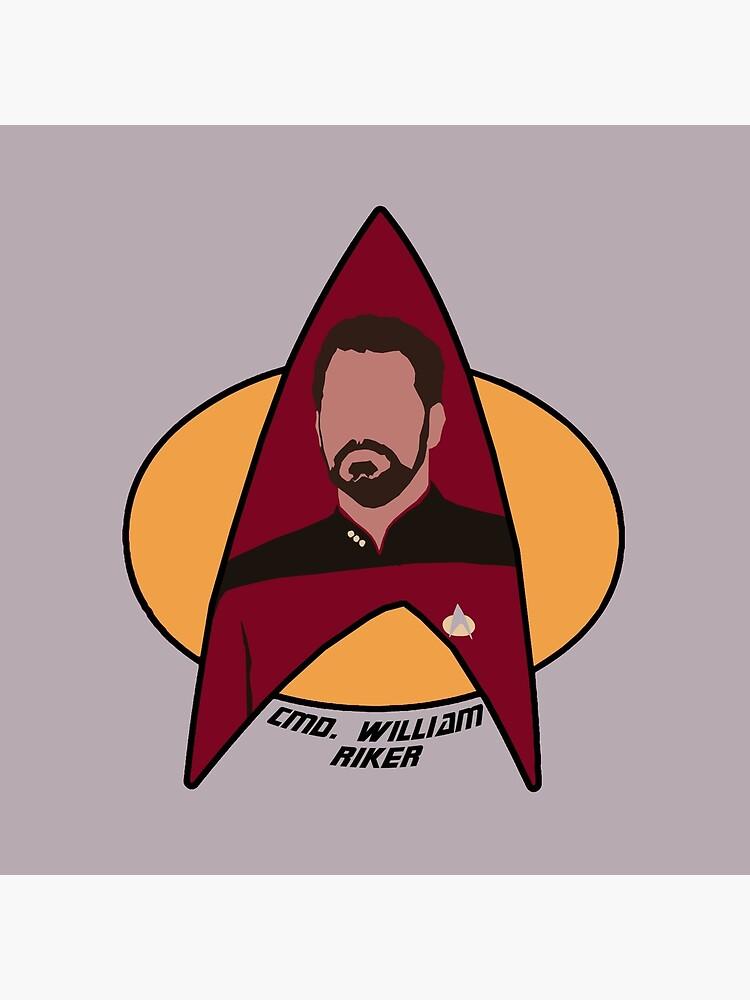 Commander Riker by Sutilmente