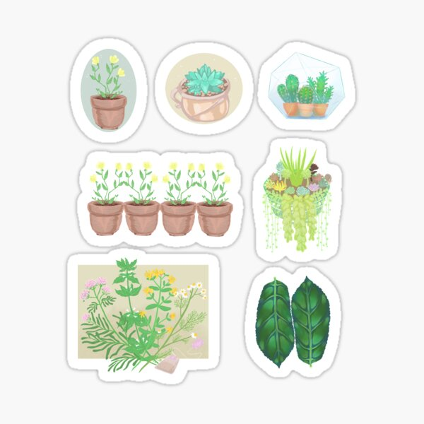 Plant Sticker Bundle Sticker