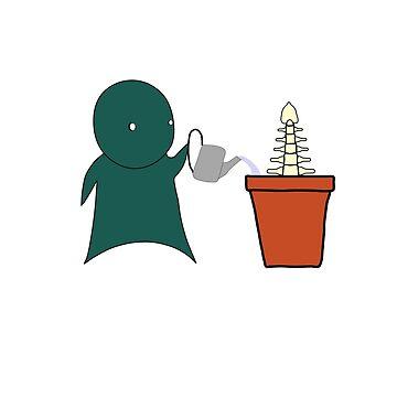 Grow A Spine by Rikzam