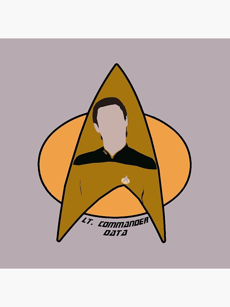 Lt. Commander Data by Sutilmente