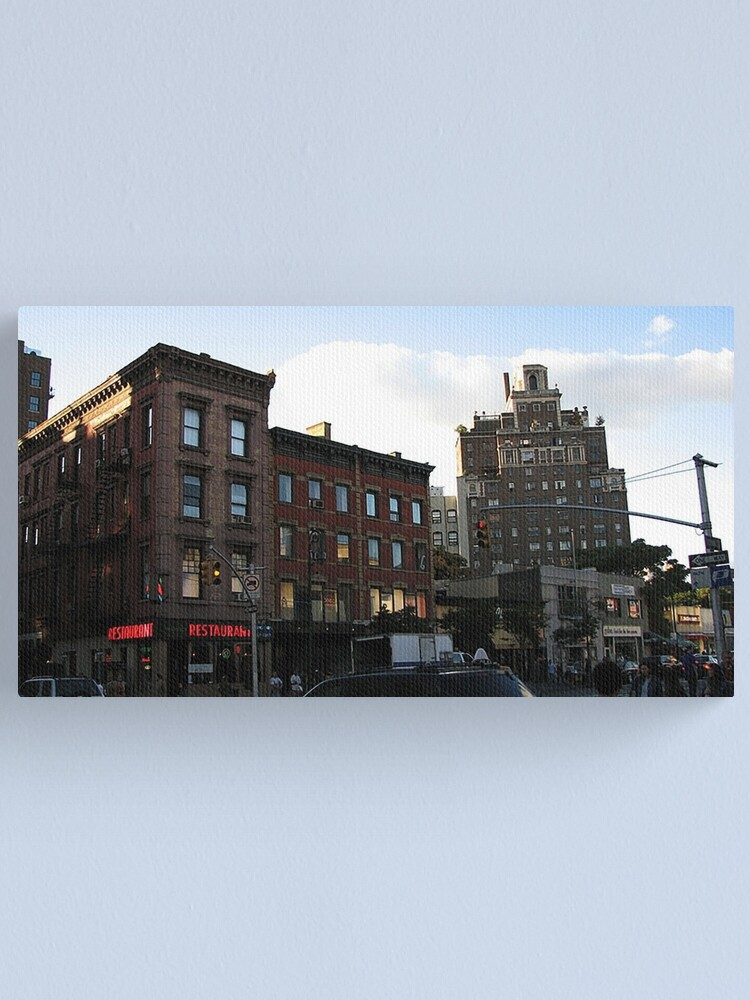 Alternate view of Waverly Place at 6th Avenue in Manhattan, NY Canvas Print
